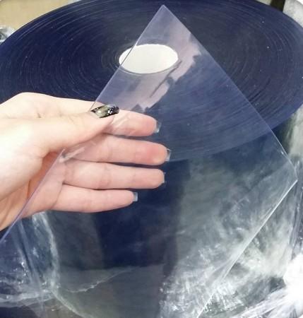 Clear Blue PVC Curtain