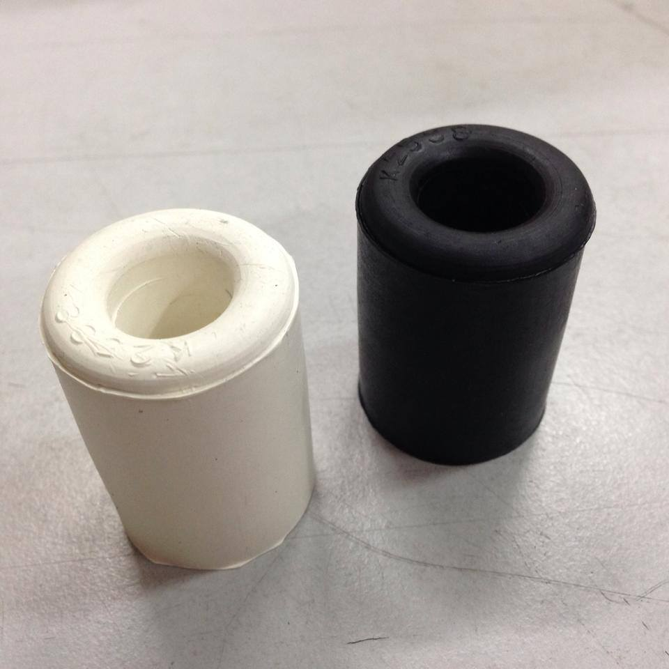 Rubber Stopper In White Amp Black Rubber Products Seales