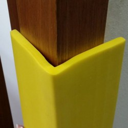 Yellow L-Shaped Strip